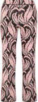 Giambattista Valli Jacquard Flared Pants - Pink