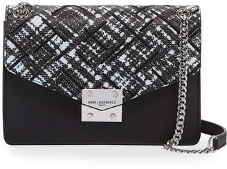 Karl Lagerfeld Paris Corrine Leather Shoulder Bag