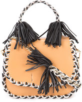 Rebecca Minkoff braided fringed crossbody bag - women - Leather - One Size