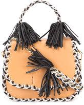 Rebecca Minkoff braided fringed crossbody bag