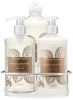 Williams-Sonoma Dish Soap, Hand Soap & Lotion Set, Spiced Chestnut