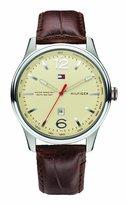Tommy Hilfiger Men's 1710315 Leather Analog Quartz Watch