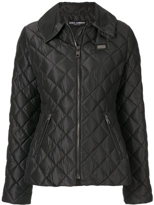Dolce & Gabbana Diamond Quilt Jacket