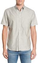 Billy Reid &Tuscumbia& Standard Fit Short Sleeve Cotton Sport Shirt