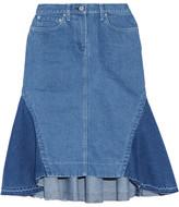 Sacai Flared Denim Skirt - Mid denim