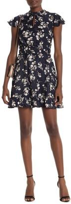 Sugar Lips Montego Floral Flutter Dress