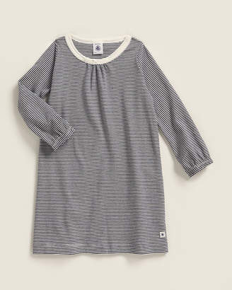 Petit Bateau Toddler Girls) Stripe Long Sleeve T-Shirt Dress