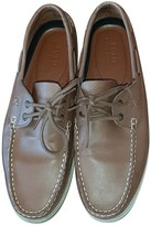 Polo Ralph Lauren Brown Leather Flats
