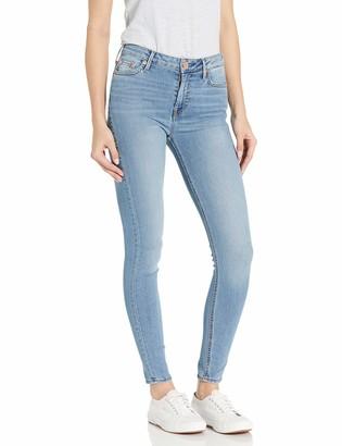 True Religion Women's Halle Super Skinny Ankle Leg fit Jean with Back Seams Finished Hem