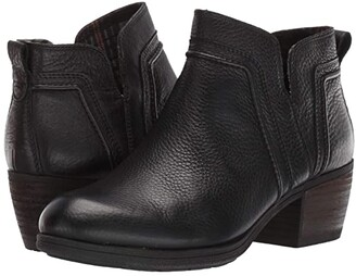 Cobb Hill Anisa V Cut Bootie (Black) Women's Shoes