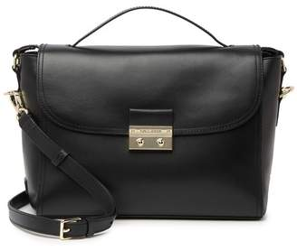 Cole Haan Lock Group Leather Satchel