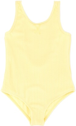 Duskii Girl Amelie textured swimsuit