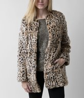 Steve Madden Leopard Print Jacket