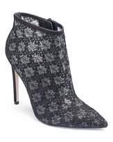 Little Mistress Lace Ankle Boot D Fit