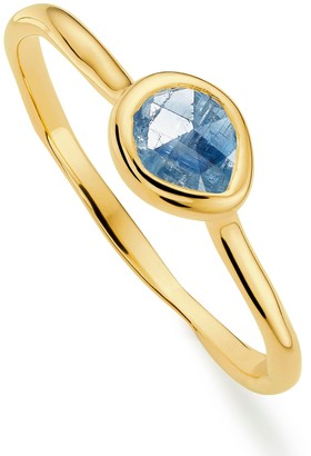 Monica Vinader 18K Gold Plated Sterling Silver Siren Small Stacking Ring