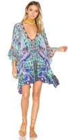 Camilla Tie Front Short Dress