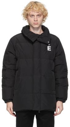 Études Black Down Joey Patch Puffer Jacket