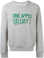 Ami Alexandre Mattiussi one apple a day sweatshirt