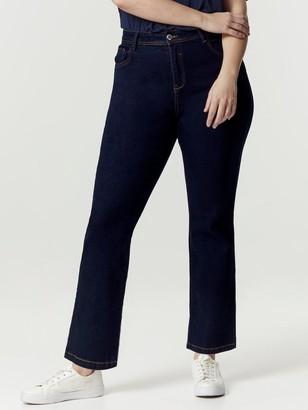 Evans RegularStraight Leg Jeans -Indigo