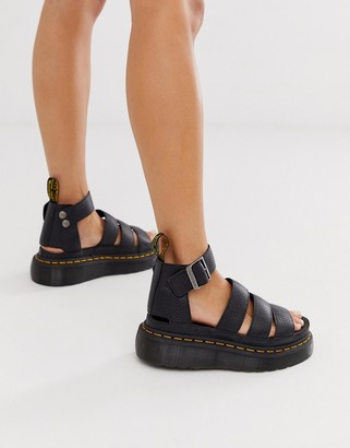 Dr. Martens Clarissa II quad chunky sandals in black
