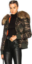Mr & Mrs Italy Slim Fit New York Bomber Jacket