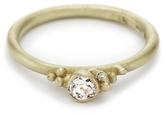 Ruth Tomlinson Three Diamond Cluster Ring