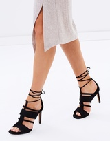 Whistles Brea Square Tow Caged Heels