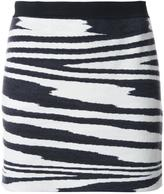Missoni striped knit skirt