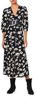 BA&SH ba & sh Ullia Floral Print Dress