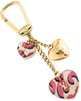 Louis Vuitton Leopard Heart Couer Bag Charm