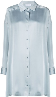 Anine Bing Mini Shirt Dress