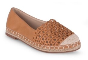 Wanted Bristol Womens' Perforated Espadrille Flat Women's Shoes