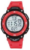 Armitron® Sport Men's Chronograph Strap Watch - Red