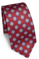 Kiton Textured Floral Silk Tie