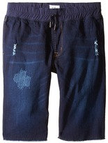 Hudson French Terry Pull-On Shorts in Power Blue Boy's Shorts