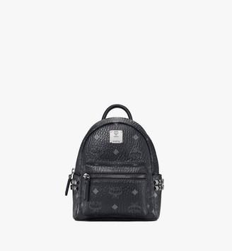 MCM Stark Bebe Boo Backpack in Visetos