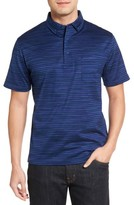 Bugatchi Men's Stripe Jersey Polo