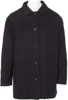 Agnona Black Cashmere Coat for Women