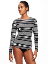 Old Navy Boat-Neck Rashguard for Women