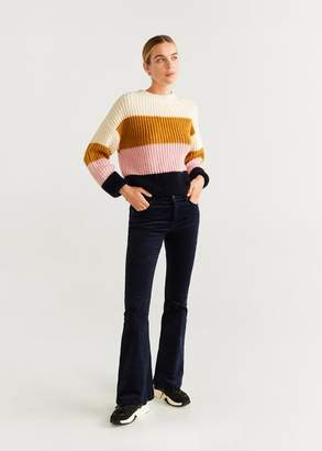 MANGO Flared trousers medium brown - 1 - Women