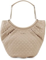 Love Moschino Saddle Quilted Tote