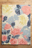 Anthropologie Rose Relief Rug Swatch