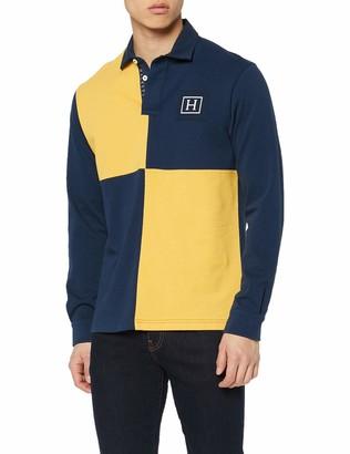 Hackett London Hackett Men's Archive Quad Polo Shirt