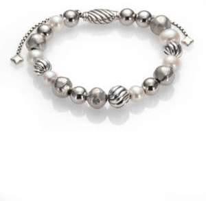 David Yurman DY Elements Bracelet with Pearls