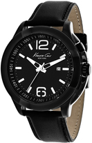 Kenneth Cole Classic 10022558 Men's Round Black Stainless Steel Watch