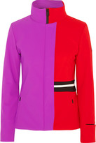 Fendi Color-block Stretch-shell Ski Jacket - Purple