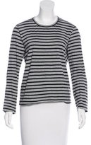 Junya Watanabe Striped Long Sleeve Top