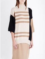 Max Mara Ruben striped wool and cashmere-blend jumper