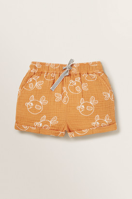 Seed Heritage Cheesecloth Short