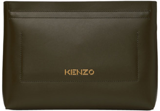 Kenzo Khaki Cadet Clutch